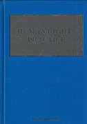 Cover of Human Rights Practice Looseleaf