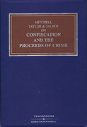 Cover of Mitchell, Taylor and Talbot on Confiscation and the Proceeds of Crime Looseleaf