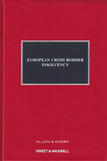 Cover of European Cross-Border Insolvency Looseleaf