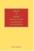 Cover of Kemp and Kemp: Personal Injury Law, Practice and Procedure Looseleaf