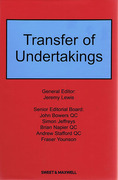 Cover of Transfer of Undertakings Looseleaf