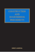Cover of Construction and Engineering Precedents Looseleaf