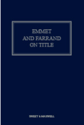 Cover of Emmet and Farrand on Title Looseleaf