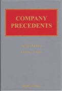 Cover of Company Precedents Looseleaf and CD-ROM