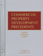 Cover of Commercial Property Development Precedents Looseleaf