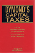 Cover of Dymond's Capital Taxes Looseleaf + CD-ROM