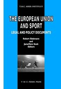 Cover of The European Union and Sport: Legal and Policy Documents
