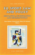 Cover of EU, Sport, Law and Policy: Regulation, Re-regulation and Representation