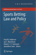 Cover of Sports Betting: Law and Policy