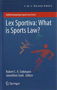 Cover of Lex Sportiva: What is Sports Law?
