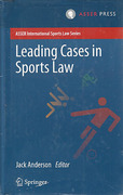 Cover of Leading Cases in Sports Law