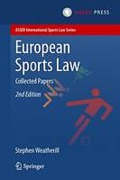 Cover of European Sports Law: Collected Papers
