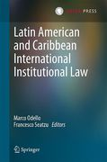 Cover of Latin American and Caribbean International Institutional Law