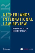 Cover of Netherlands International Law Review: Print + Basic Online