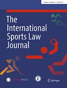 Cover of The International Sports Law Journal: Print + Basic Online