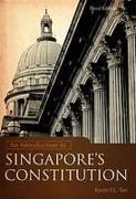 Cover of An Introduction to Singapore's Constitution