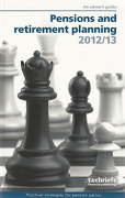 Cover of Taxbriefs Pensions and Retirement Planning 2012/13: The Adviser's Guide