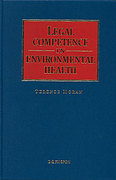 Cover of Legal Competence in Environmental Health