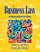 Cover of Business Law: For Business and Marketing Students