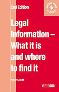 Cover of Legal Information: What it is and Where to Find it