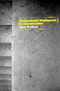 Cover of Professional Negligence in Construction