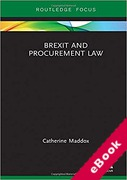 Cover of Brexit and Procurement Law (eBook)