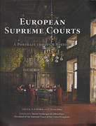 Cover of The European Supreme Courts: A Portrait Through History
