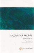 Cover of Account of Profits