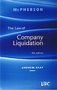 Cover of Mcpherson: The Law of Company Liquidation