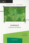 Cover of Evidence: Commentary and Materials