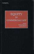 Cover of Equity in Commercial Law