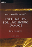 Cover of Mullany & Handford's Tort Liability for Psychiatric Damage