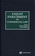 Cover of Unjust Enrichment in Commercial Law