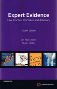 Cover of Expert Evidence: Law, Practice, Procedure and Advocacy