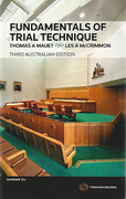 Cover of Fundamentals of Trial Technique