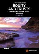 Cover of Equity and Trusts: Commentary and Materials