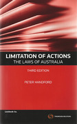 Cover of Limitation of Actions: The Laws of Australia