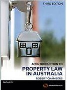Cover of An Introduction to Property Law in Australia