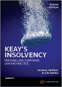 Cover of Keay's Insolvency:  Personal & Corporate Law