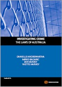 Cover of Investigating Crime: The Laws of Australia