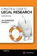 Cover of A Practical Guide to Legal Research