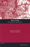 Cover of Restitution: The Laws of Australia