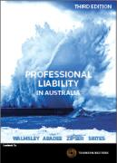 Cover of Professional Liability in Australia