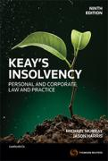 Cover of Keay's Insolvency: Personal and Corporate Law and Practice