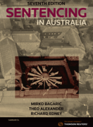 Cover of Sentencing in Australia