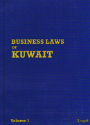 Cover of LEXGULF Business Laws of Kuwait Looseleaf