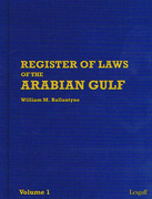 Cover of Register of Laws of the Arabian Gulf Looseleaf