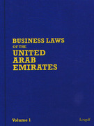 Cover of LEXGULF Business Laws of The United Arab Emirates Looseleaf