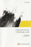 Cover of Principles of Criminal Law