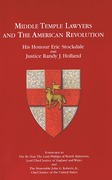 Cover of Middle Temple Lawyers and the American Revolution
